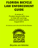 Fl Bike Laws booklet