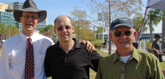 J. Steel Olmstead, Andy Clarke, Tim Bustos