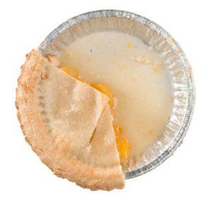 one-third of pie
